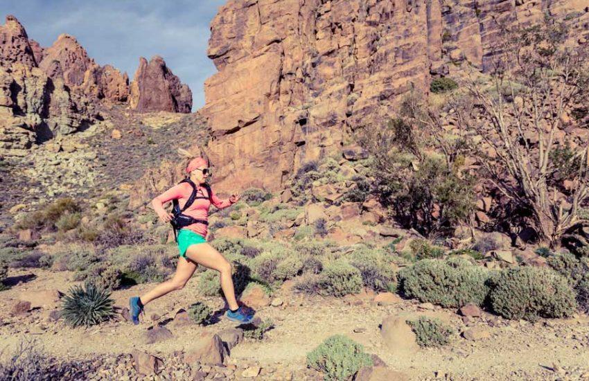 zaino da corsa e trekking